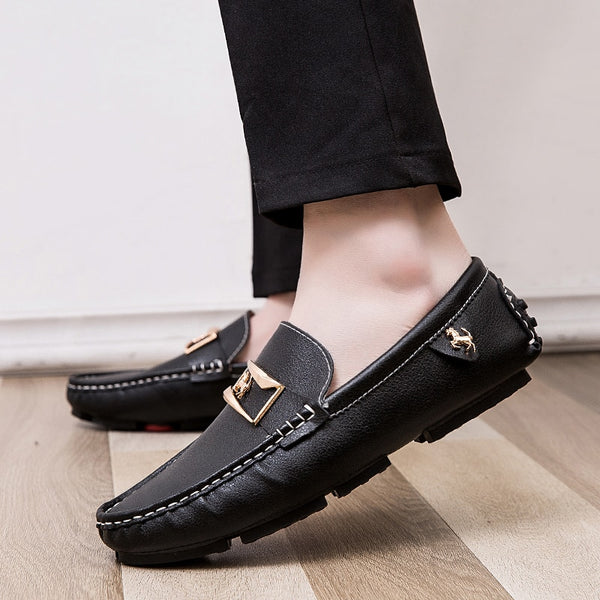 Classical Male Driving Casual Moccasin Flat Peas Shoes