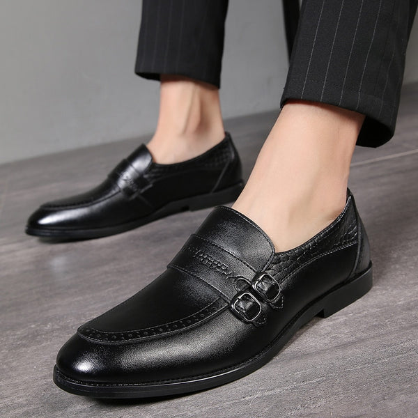 Handmade British Style Leather Men Dress Shoes Oxfords Shoes