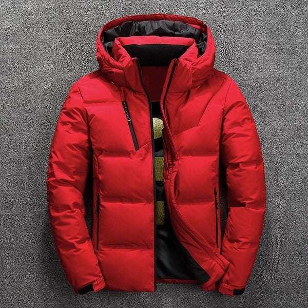 Winter Warm Padded Casual Coat New Fashion Hood Hat Outwear (Important Note:Please choose the size according to the size table)