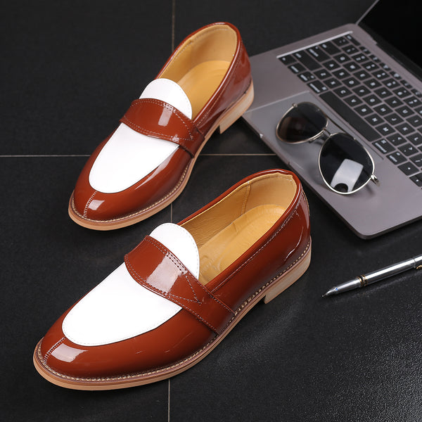2019 Luxury Business Party Casual Slip-on Loafers Formal Dress Wedding shoes