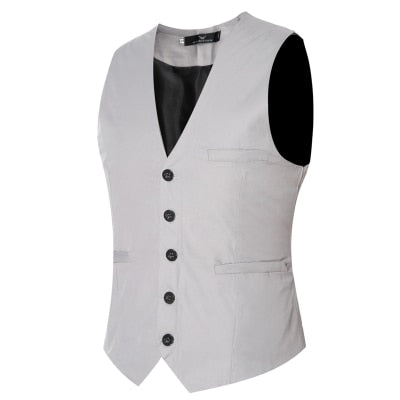 Men's Slim Fit Wedding Waistcoats Dress Suit Vests