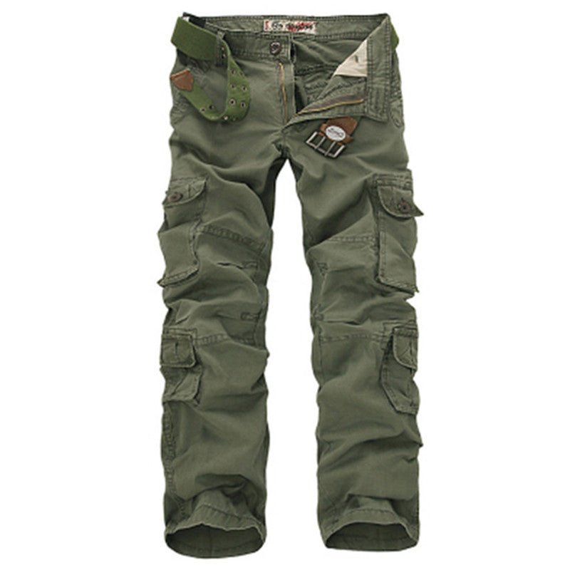 2019 Men's Military Cargo Pants Baggy Tactical Trousers Oustdoor Multi-Pockets Pants