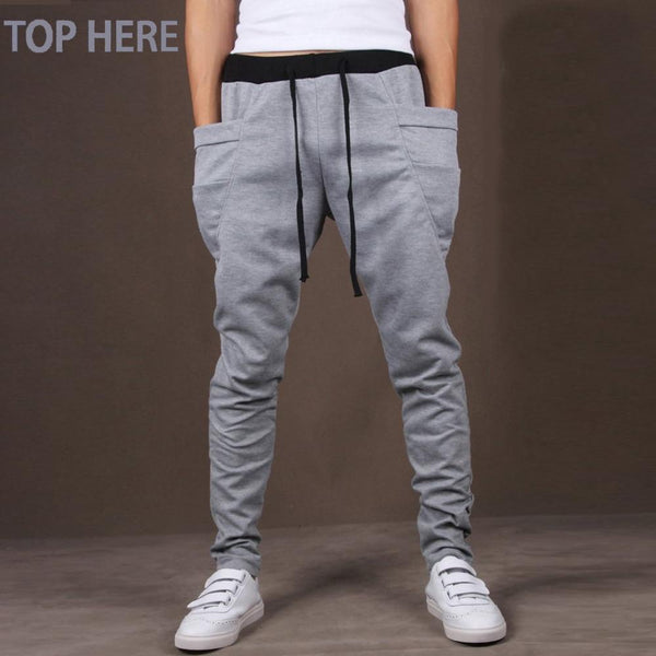 Hip Hop Harem Casual Men Pants