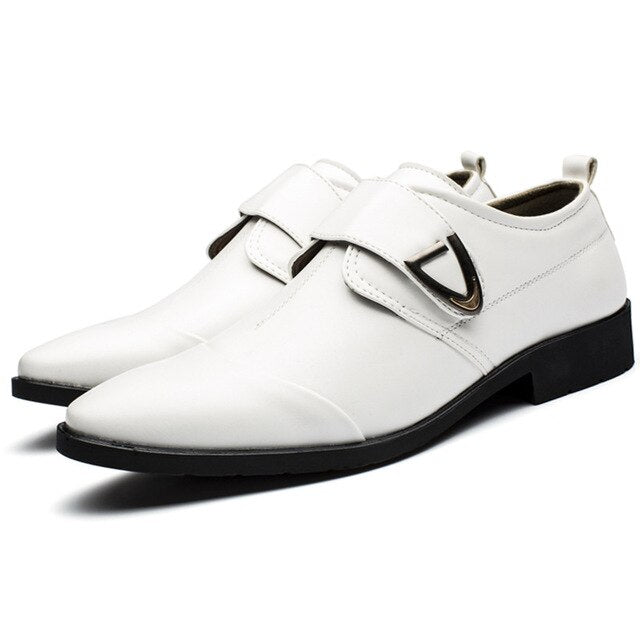 Men Business Dress Shoes Patent Leather Derby Shoes wedding party shoes
