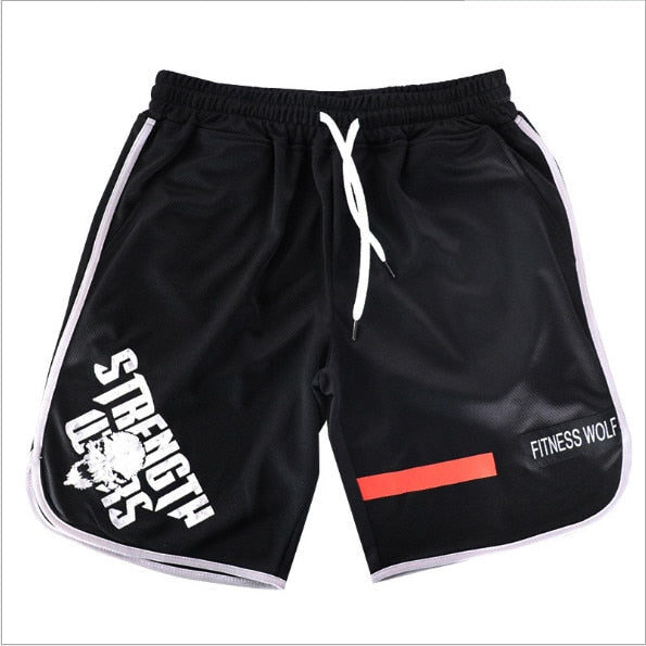 2019 New Men's Sports Beach Shorts Sweatpants Fitness Short Gyms Pants