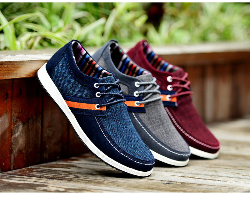 Quality Men's Leather Shoes Moccasins Loafers Sneakers Casual Boat Shoes