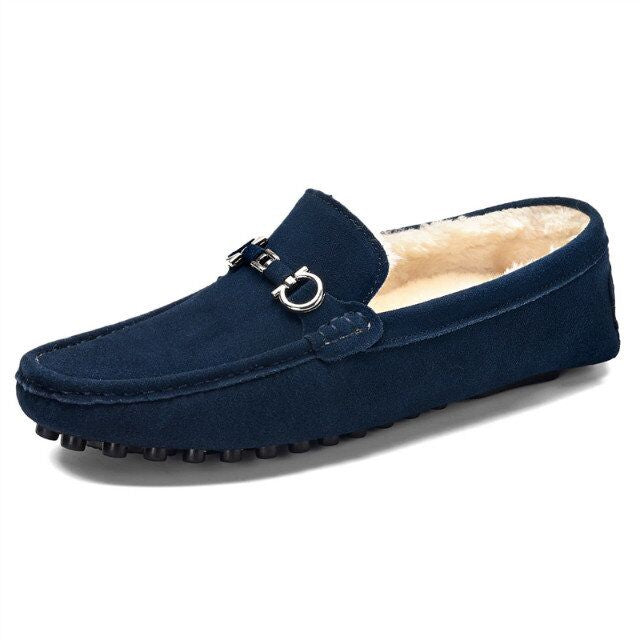 2019 New Casual Loafers Shoe Handmade Loafer Slip-On Driver Shoe