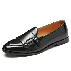 Luxury Plus Size Leather Men Casual Shoes