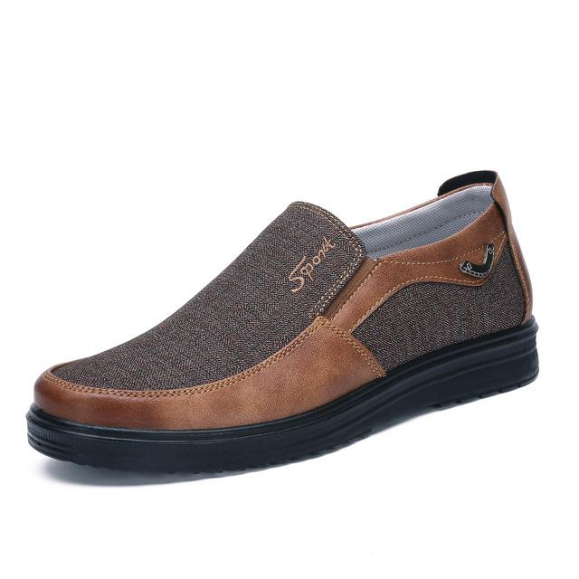 Fashion Breathable Slip On Soft Sole Men Casual Shoes