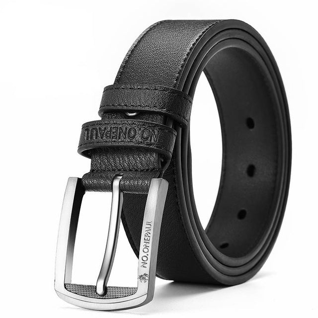 High Quality Cow Genuine Leather Strap Belts Classice Vintage Pin Buckle Belt