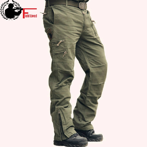 2019 Tactical Pants Camo Cargo Pants Cotton Trousers Multi Pocket Military Army Pants