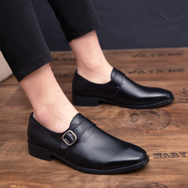 2019 Luxury Dress Shoes Men's Leather Shoes Loafers Oxford Shoe