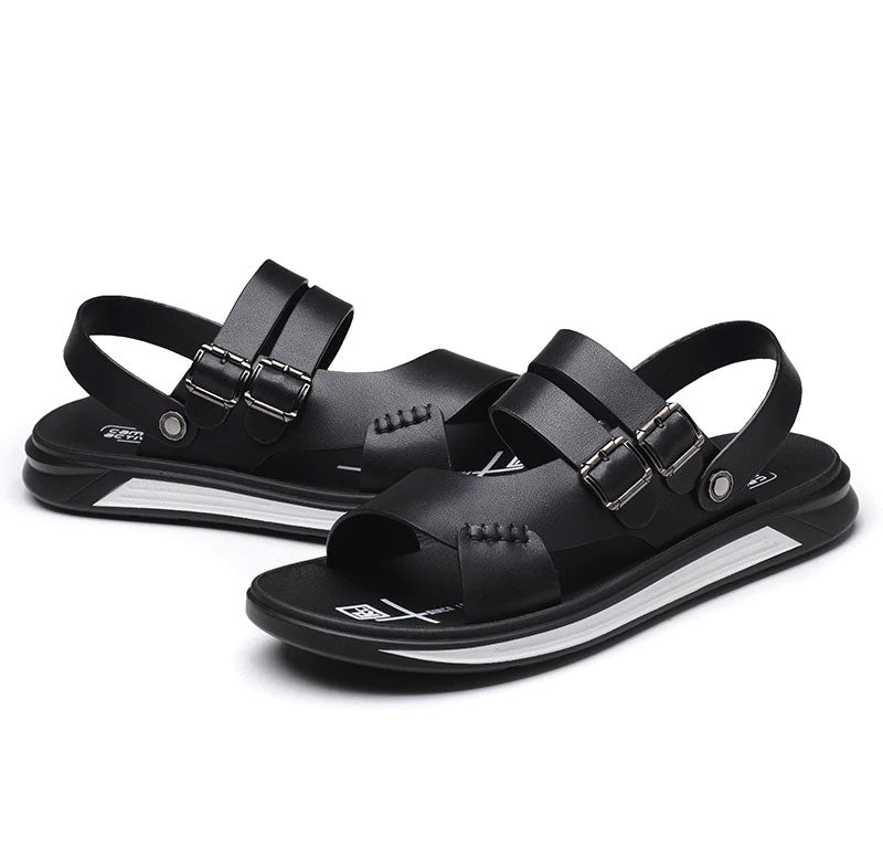 New  Summer Beach Casual Water shoes Walking Leather Sandals