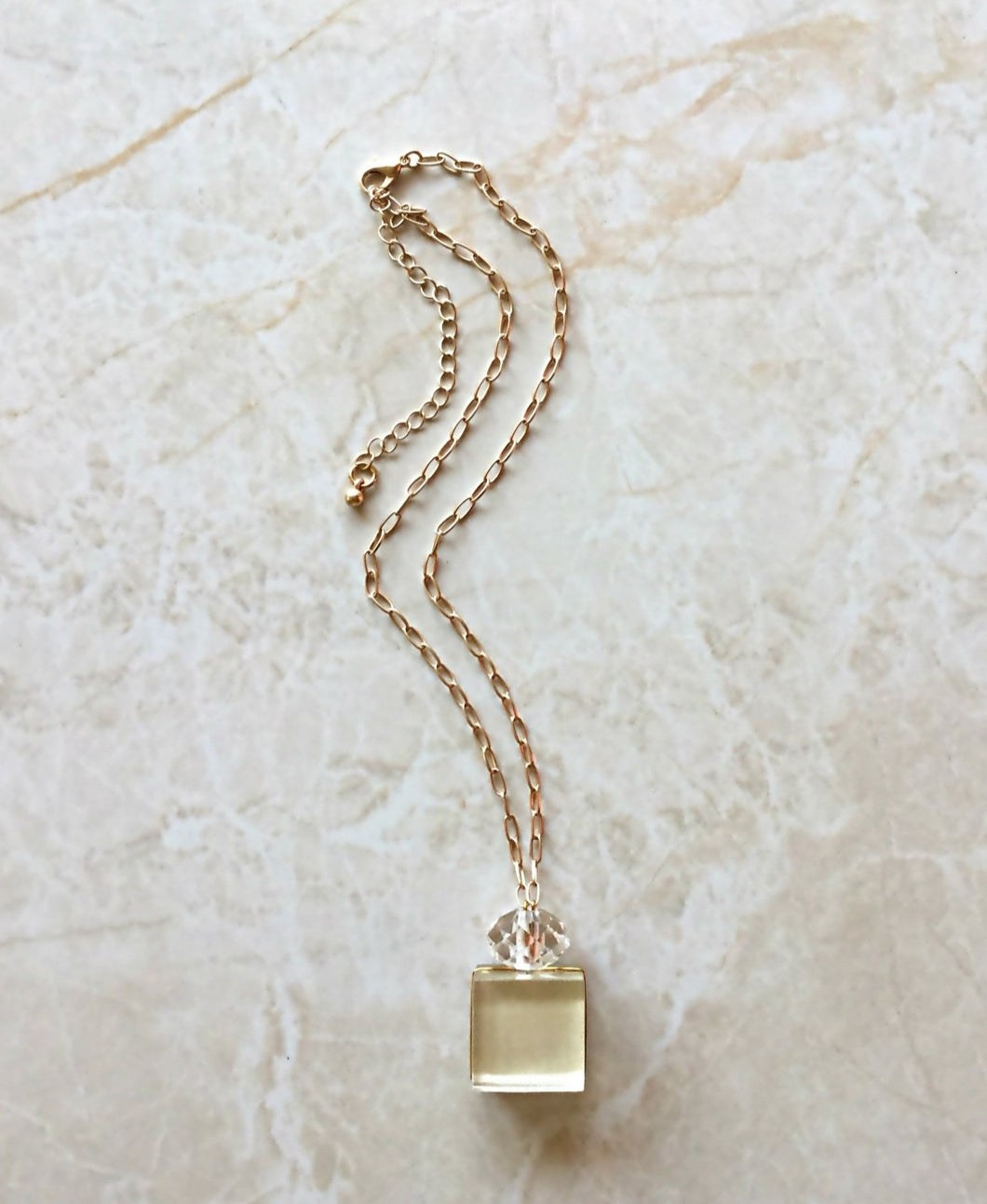 Dream Necklace (light gold)