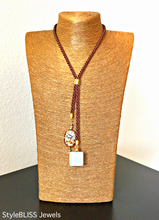 Load image into Gallery viewer, Lagoon Lariat Necklace