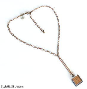 Rise Lariat Necklace