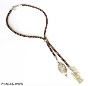 Seacoast Lariat Necklace