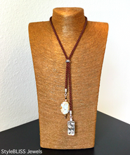 Load image into Gallery viewer, Seacoast Lariat Necklace