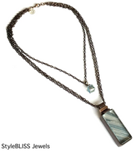 Load image into Gallery viewer, Seaside Necklace (one of a kind)