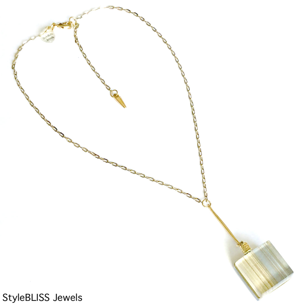 Shine Lariat Necklace