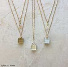 Load image into Gallery viewer, Dream Necklace (light gold)