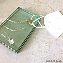 Load image into Gallery viewer, Epiphany Necklace + Mask Accessory