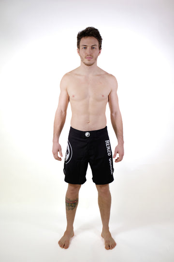FUJI Black Fight Shorts
