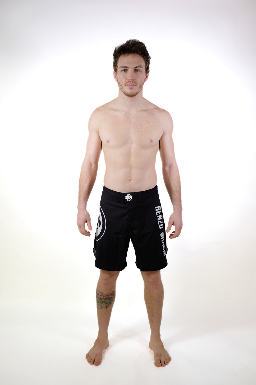 FUJI Gray Fight Shorts