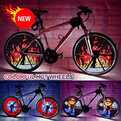NightLife™ lights DIY Programmable LED Wheel.