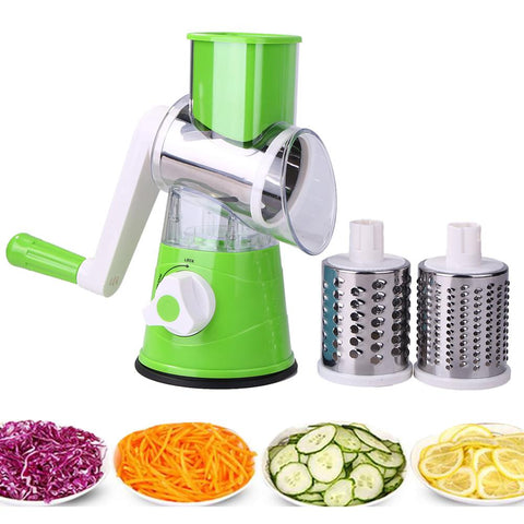 Stainless Steel Round Slicer Multi-functional Manual Vegetable