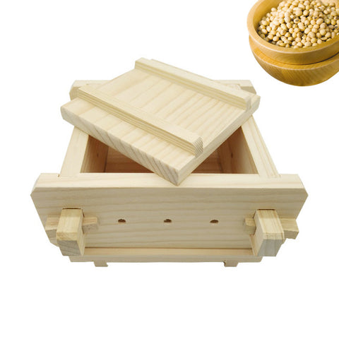 Removable Wooden Tofu Press  Homemade Cooking Accessories