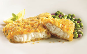 Potato Encrusted Cod