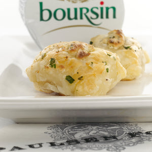 Bourbon & Boursin Chicken en Croute Appetizer - Party Tray - Heat and Eat (50 count)