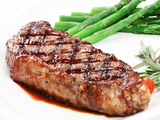 Case of New York Strip Steaks