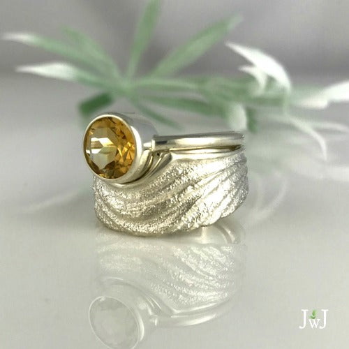 Rippling Cradled In The Waves Ring