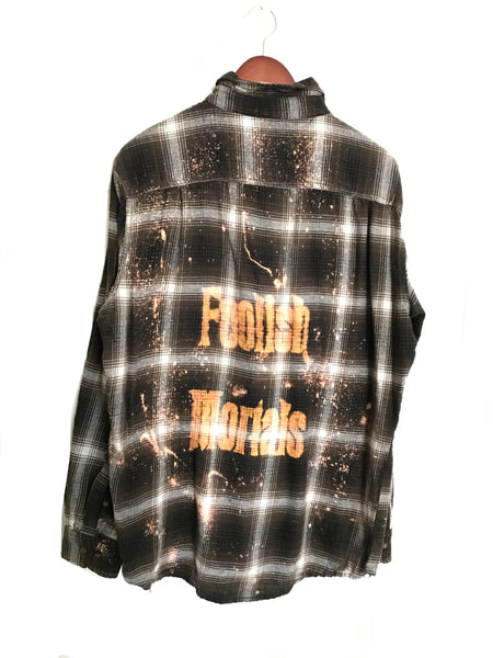 Foolish Mortals Flannel Shirt