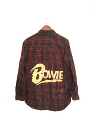bowie flannel shirt