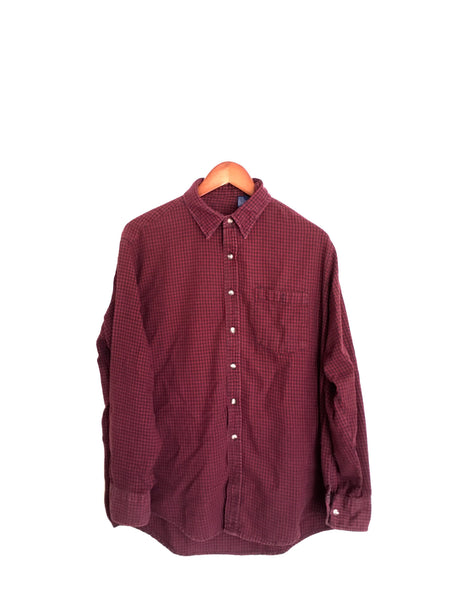 Harry Potter Shirt in Burgundy Flannel