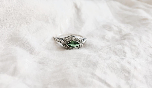 Victorian Emerald Ring