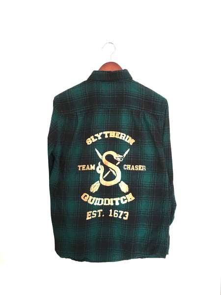 Slytherin Flannel Shirt