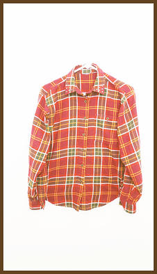 Velvet Backing Shirt in Plaid Flannel