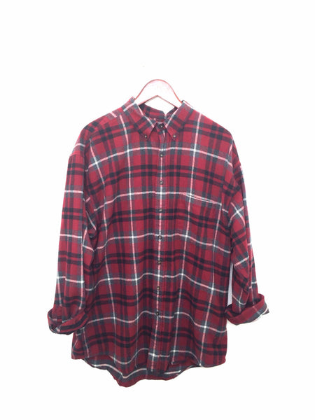 Team London Shirt in Plaid Flannel