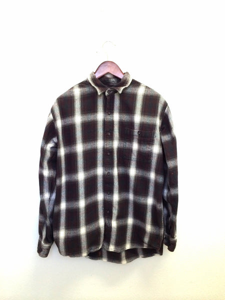 Villa Diodati Shirt in Plaid Flannel
