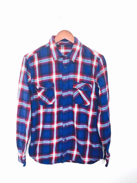 Flapper Plaid Flannel Shirt