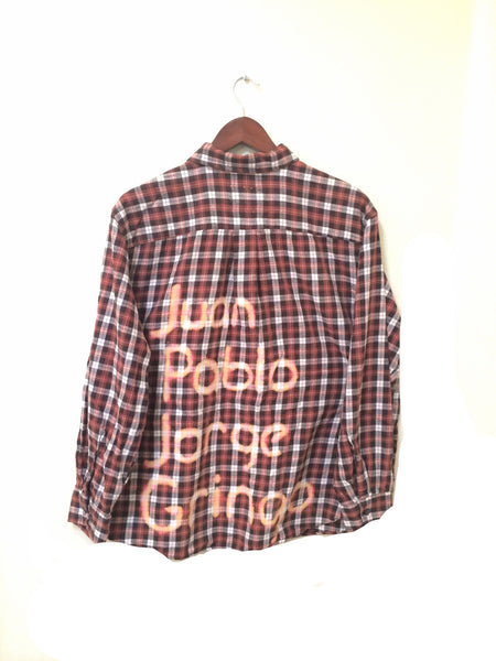 the beatles shirt plaid flannel funny juan pablo jorge gringo