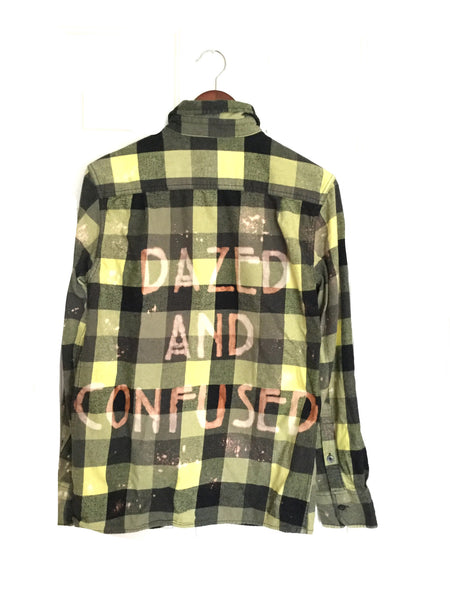 dazed and confused plaid flannel shirt