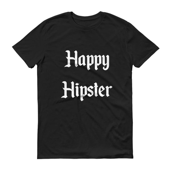 happy hipster tshirt