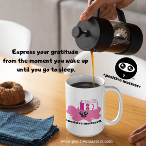1: Positive Masters Show - Expressing Your Gratitude for the Process of Making Your Coffee (podcast clip)