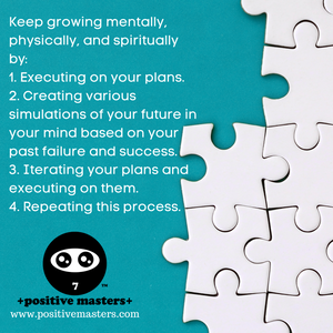 4: Positive Masters Show Podcast - How to Keep Growing Mentally, Physically, & Spiritually - Audiogram