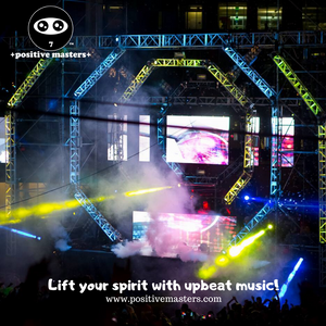 Lift your spirit with upbeat music! There's something magical about music. Turn up a fun tune and let's dance!